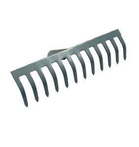 Грабли, прямой зуб, 12 зубьев, 350х100 мм