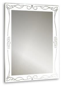 """Зеркало Mixline """"Ампир"""" 535*750(ШВ) с пескоструйный рисунок"""
