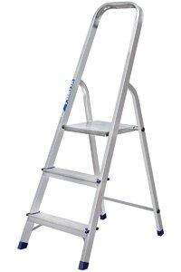 Лестница-стремянка алюминиевая, 3ступеней, вес 2,6 кг