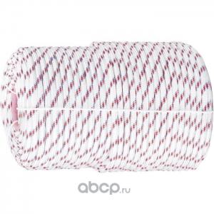 Фал плетёный капроновый СИБИН 16-прядный с капроновым серд. 8 мм, бухта 100 м, 1000 кгс