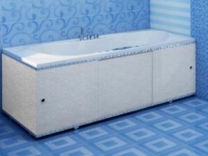 """Экран для ванны 1,5 м. """"Премиум А"""" лед"""
