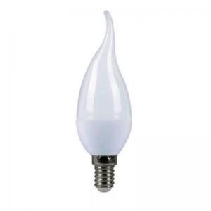 Лампа светодиод. LED 5Вт Свеча на ветру Е14 3000К Eco_LED5wCWE1430