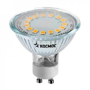 Лампа светодиод. LED GU10 5Вт 220В 3000К Космос Lksm_LED5wGU10C30