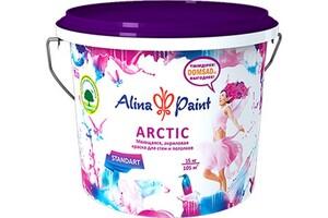 Краска водоэмульсионная, Alina Paint ARCTIC, 15 кг (интерьерная, моющаяся, всесезонная)