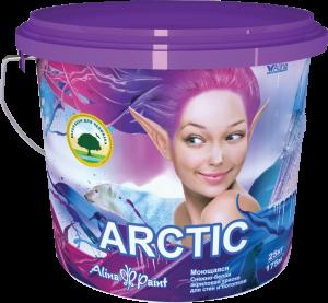 Краска водоэмульсионная, Alina Paint ARCTIC, 25 кг (интерьерная, моющаяся, всесезонная)