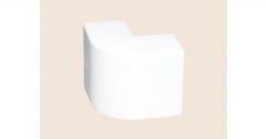 Угол внешний 20х10 белый Рувинил УВШ-20х10