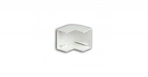 Угол внешний 40х25 белый Рувинил УВШ-40х25