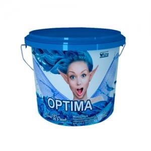 Краска водоэмульсионная, Alina Paint OPTIMA, 25 кг (интерьерная, супербелая, всесезонная)