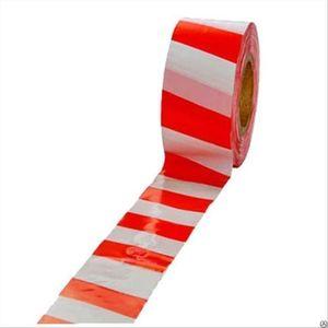 Сигнальная лента, цвет красно-белый, 75мм*200м, Зубр Мастер
