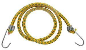 """Шнур STAYER """"MASTER"""" резиновый крепежный со стальными крюками, 80 см, d 7 мм, 2 шт"""