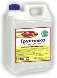Грунтовка ВД ЭММИКС строительная (БАР 5кг) №11411