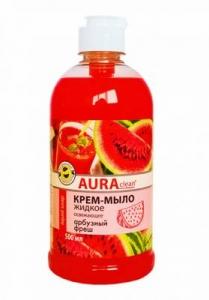 Крем-мыло Аура арбузный фреш 500мл/20