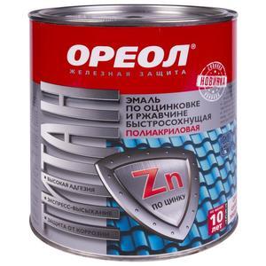 Эмаль с молотк эффект Ореол син 2,4 кг Ростовские краски