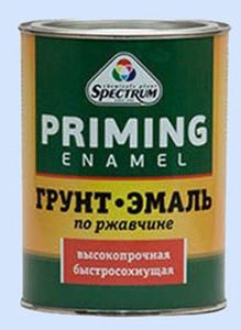 Грунт-эмаль по ржавчине гол 1,8 кг Спектр Оренбург
