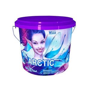 Краска водоэмульсионная, Alina Paint ARCTIC, 3 кг (интерьерная, моющаяся)