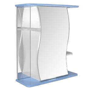 """Шкаф навесной """"Венеция-60""""  голубой без подсветки (ПВХ)"""