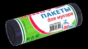 Пакеты д/мусора Avikomp эконом 30л 20шт/50 черные
