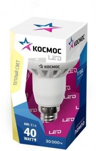 Лампа светодиод. LED R50 6Вт 220В E14 4500К Космос Lksm_LED6wR50E1445