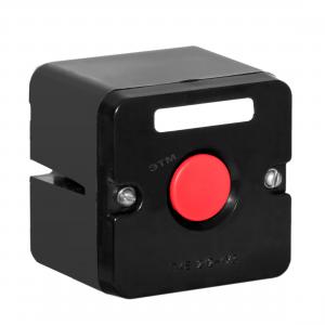 Пост кноп. ПКЕ-212/1 красн.