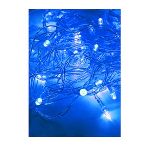 Электрогирлянда 15.4м 140LED син. прозр. провод 8 режимов мигания IP20 мультиколор Космос KOC_GIR140