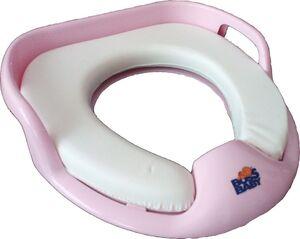 Накладка детская к сиденью мягкая BossBaby розовая