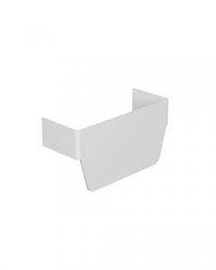 Тройник 85*50мм METRA  638024