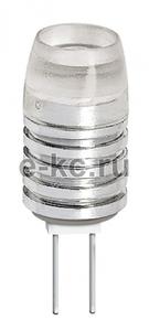 Лампа светодиод. PLED-G4 1.5Вт 5500K 1220 12ВAC/DC JazzWay 4690601007070