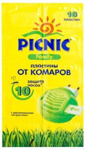 Пластины от комаров (10 шт)