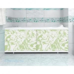 Экран для ванны Универсал-Кварт 1,5  мрамор зел