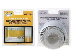 Лента бордюрная д/раковин и ванн AVIORA 12,8мм *3,35м
