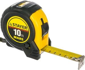 """Рулетка STAYER """"MASTER"""", 10мх25мм"""