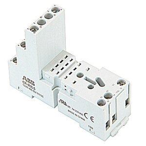 Цоколь CR-M2LS для реле CR-M 2ПК 1SVR405651R1100