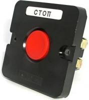 "Пост кноп.ПКЕ-112/1 ""Стоп""кр Электродатель ПКЕ-112/1.1К"