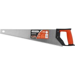 Ножовка по дереву MIRAX 400мм, 5ТР, рез вдоль и поперекволокон, для крупных и средн. заготовок