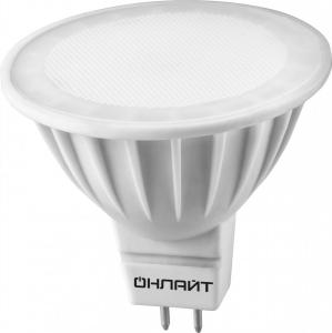 Лампа светодиодная 71 641 ОLL-MR16-7-230-4K-GU5.3 ОНЛАЙТ 4670004716410 (20шт в упак)