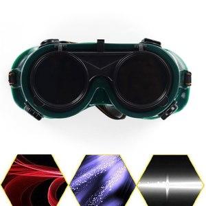 Очки для аргонной сварки (зеленые)
