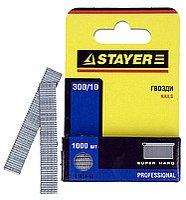 """Гвозди STAYER """"PROFI"""" закаленные для степлера, тип 300, 14мм, 1000шт"""
