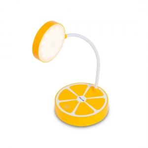 светодиодная лампа, Deluxe, Paradisi-У, 2W, Димминг 3 уровня, Сенсорн.управ.питание от USB, желтый