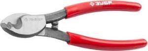 """Кабелерез ЗУБР """"Мастер"""" для резки неброн кабеля из цв металлов, цельнокованые из Ст 55, кабель сеч38"""
