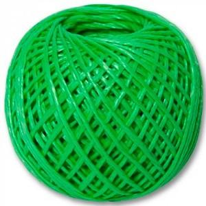Шпагат полипропиленовый, зеленый, 1200текс, 60м //СИБРТЕХ//Россия