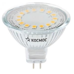 Лампа светодиод. LED JCDR 3Вт 220В GU5.3 3000К Космос Lksm_LED3wJCDRC30