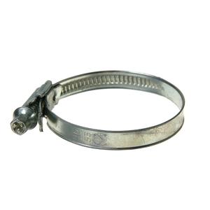 Хомут червячный стальной, диаметр 40-56мм